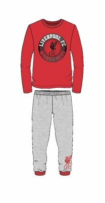 Boys Childrens Liverpool Pyjama Set Football Pajamas Pjs Sleepwear Gift
