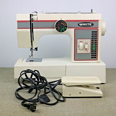 THE WHITE COMPANY Sewing Machine White Sewing Machine Model No40 Interesting White Sewing Machine 1477
