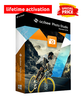 ACDSee Photo Studio Standard 2019 BUILD Lifetime Activated ✔ INSTANT DELIVERY 📨