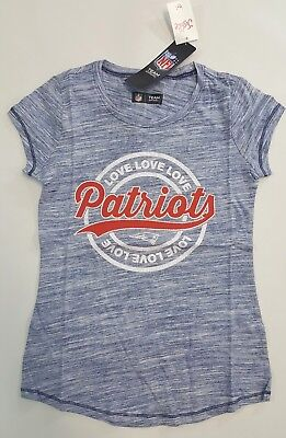 b1caab1ee NWT JUSTICE KIDS Girls Size 16 or 18 New England Patriots Football ...