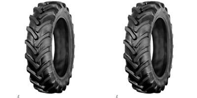 TWO NEW 7x14, 7-14 R1 TUBELESS Lug 6 ply Tractor Tires Heavy Duty 7/14 7.00-14
