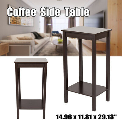Bed Sofa Coffee Table Side TV Table End Display Square Small Office Home