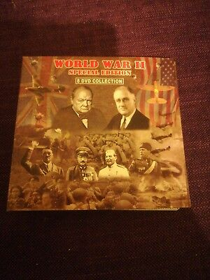 World War 2 Special Edition 8 DVD Box Set All in Mint condition Churchill