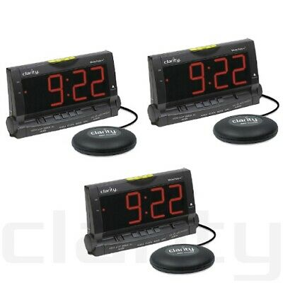 Clarity Wake Assure-3 Pack Loud Buzzer Alarm Clock