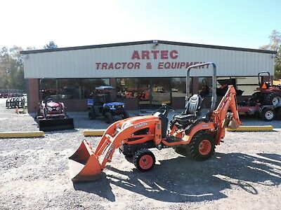 2013 Kubota Bx25 Tractor With Loader & Backhoe - 4Wd - Kubota - Good Condition!!