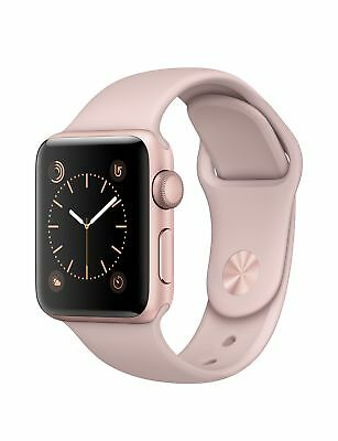 Apple Watch Series 2 38mm Rose Gold Aluminum with Pink Sport Band