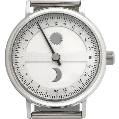 Svalbard 24 hour single hand Sun & Moon Limited Edition watch with Swiss movemen
