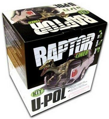 RAPTOR Tough and Protective Bed Liner Kit, Black 1.7 VOC, 8lbs UPL-UP0825 New!