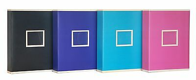 Extra Large Blue Two Tone Slip In Photo Album Holds 600 6 x 4 Photos