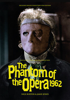 The Phantom of the Opera 1962 Hammer horror Herbert Lom movie magazine