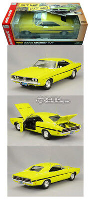 Dirty Mary Crazy Larry 1969 Dodge Charger R/T Diecast 1/18 AWSS101 Auto World