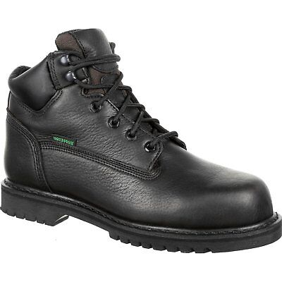 7672afd8bfe8 Lehigh Safety Shoes Men s 6 inch Steel Toe Waterproof Electrical Hazard