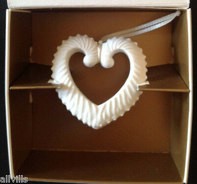 TOKEN OF MY LOVE # HT- 1 Heart Shaped Ornament New in Box 2000