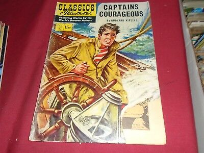 CLASSICS ILLUSTRATED #117 Captain Courageous HRN 118 G