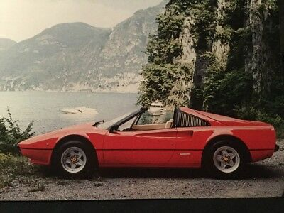 RARE Catalogue 1975 FERRARI 308 GTB 308 GTS