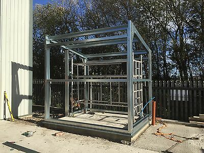 Steel building Industrial spec- Portal Frame Toilet Block, small Buildings