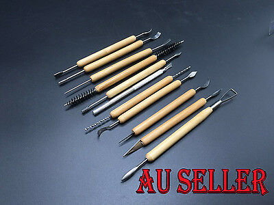 Bulk Clay Sculpting Wax Carving Pottery Ceramic Tools Polymer Modeling Carved