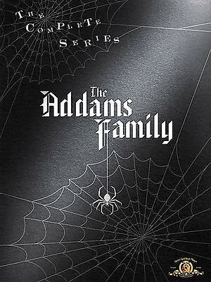 The Addams Family Complete Series DVD 9 Disc Box Set Brand NEW