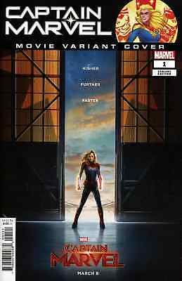 Captain Marvel 1 2019 1:10 Movie Incentive Variant Nm