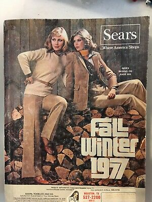 Sears Catalog 1977 Fall and Winter