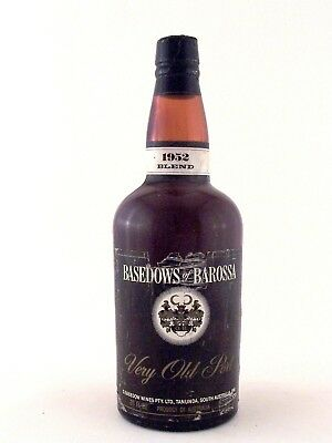 1952 BASEDOW WINES Very Old Port Blend ISLE OF WINE