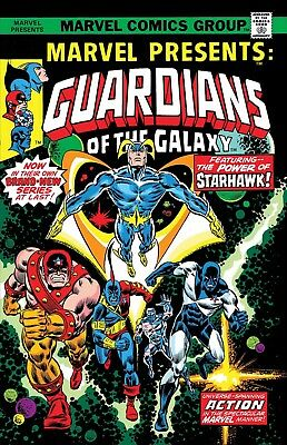 MARVEL PRESENTS 3 GUARDIANS OF THE GALAXY FACSIMILE ED of 1975 1st APPEARANCE NM