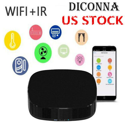 WIFI REMOTE CONTROL Smart Infrared IR APP TV Alexa Google
