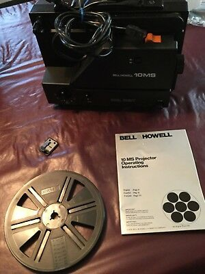 Bell & Howell 10 ms projector with 1 reel EUC -