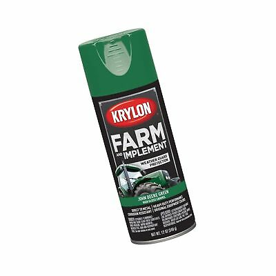 Krylon K01932000 Farm & Implement Paint, 12 oz, John Deere Green Each