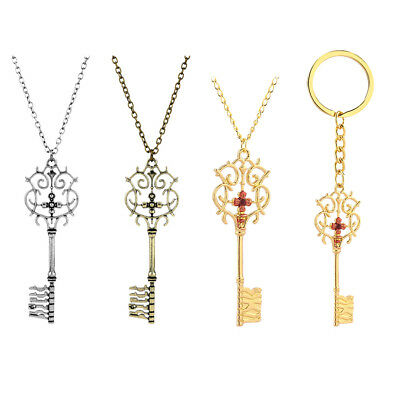 The Nutcracker and the Four Realms Pendant Necklace Key Chain Clara Cosplay Prop