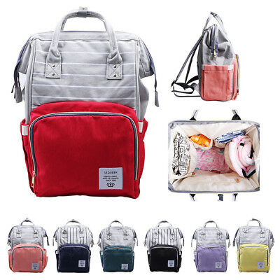 Multifunctional Mummy Maternity Diaper Nappy Backpack Large Capacity Baby Bag