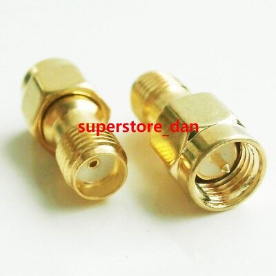 2/5/10Pcs SMA Male To SMA Female Jack Lot RF Connector Coupler Straight Adapter