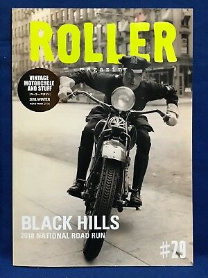 Roller Magazine Vol.29 2019 Winter Japan Magazine Vintage Motorcycle And Stuff