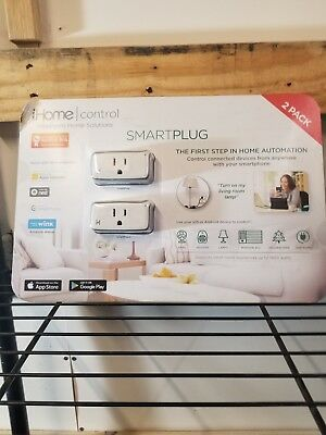 IHOME CONTROL SMART Plug iSP6X Apple HomeKit Android Nest Alexa