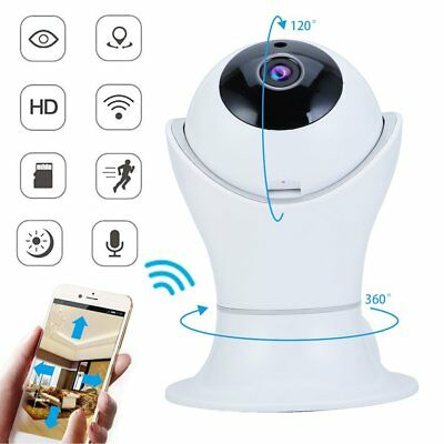 1080P HD 360 Panoramic Home Security Network IP Wifi Camera Wireless Smart Cam