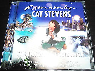 Cat Stevens Remember The Ultimate Collection Best Of Greatest Hits CD - New