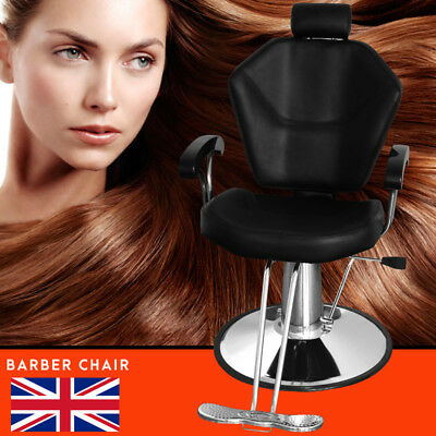 Modern Salon Barber Chair Hydraulic Reclining Hairdressing Tattoo Leather Chairs