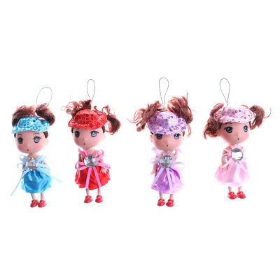 1PC 12cm Cute Ddung Confused Doll Pendant Keychain Dolls Gift