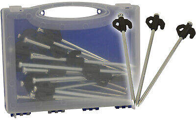Rock Pegs Pack Of 20 Heavy Duty Hard Ground Tent & Awning by Andes