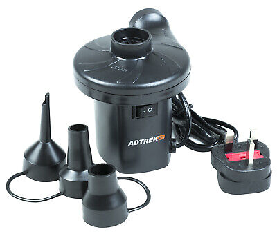 Adtrek Air Inflator Camping Inflatable Airbed Pump 240V Mains Electric