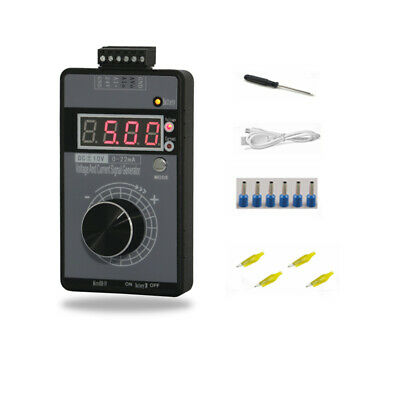 New Digital 4-20mA 0-10V Voltage Signal Generator 0-20mA Current Transmitter