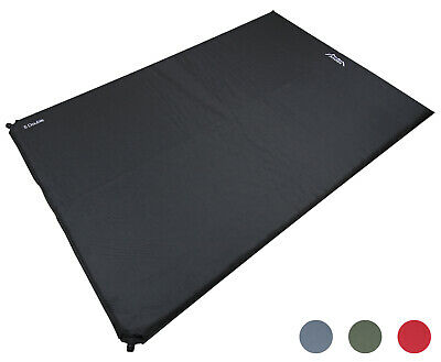 Andes Explora 5cm Double Self Inflating Camping/Camp Bed Mat/Mattress