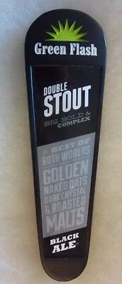 Green Flash Double Stout Black Ale Craft Beer Tap Handle