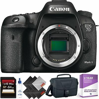 Canon EOS 7D Mark II DSLR Camera Body Only + 64GB Memory Card Bundle004