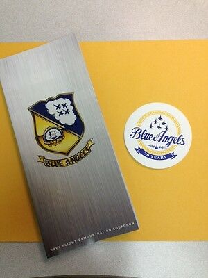 Official 2016 US NAVY BLUE ANGELS Handout Brochure - 70th Anniversary Year!!!