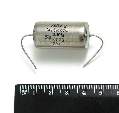 4 pcs 0.15uF 0,15uF .15uF  400V K40Y-9  PIO Paper in Oil Audio Capacitors NOS