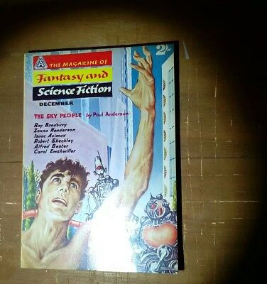 The Magazine of Fantasy and Science Fiction. Vol 1 no 1 1959