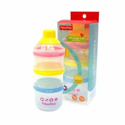 Fisher Price Baby Milk Powder Storage Container Storage Dispenser Formula Case