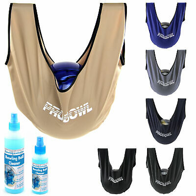 Bowling Ball Care Set pro Bowl Giant Seesaw Polish Bag and Be Cleaner Cleaner