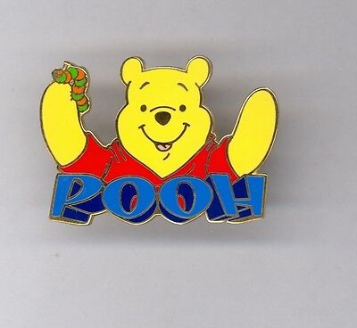 Disney Store 12 Months of Magic Winnie the Pooh with Caterpillar Pin 2002